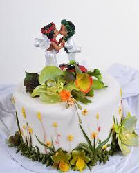 wedding cake hawaiian greens by pastry palace hawaiian essence