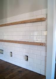 Installing Subway Tile Backsplash In Kitchen Plain Design Installing Subway Tile Backsplash Impressive Idea