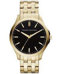 gold armani bracelet images A x armani exchange men 39 s gold tone stainless steel bracelet watch tif