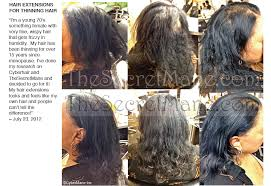 Allure Hair Extensions by Hair Extensions For Thinning Scalp Om Hair