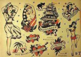 sailor jerry pin up flash