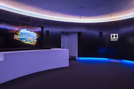 dolby atmos home theater system photo of the dolby lounge inside the dolby theatre available on