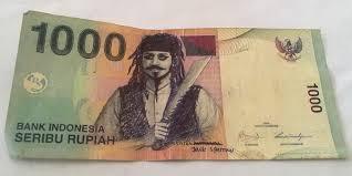 uang seribu, kreasi uang seribu, uang terlucu, uang seribu terunik, uang terunik