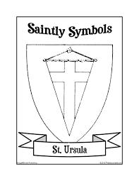 st ursula saintly symbols resource