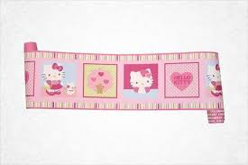 Wallpaper Borders For Girls Bedroom Hello Kitty Baby Girls Bedroom Accessories