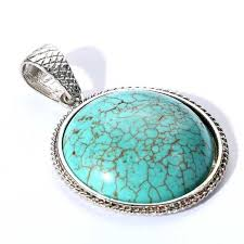 round turquoise necklace images Cheap turquoise jewelry pendants find turquoise jewelry pendants jpg