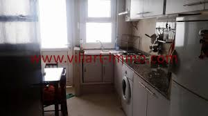 cuisine centre to let in tangier city centre two bedrooms furnished apartment villart