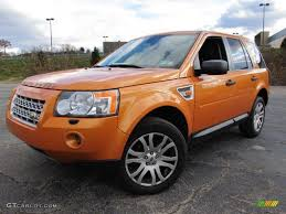 land rover lr2 2008 2008 tambora flame orange land rover lr2 se 56609640 gtcarlot