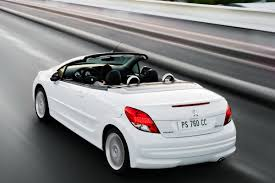 auto peugeot peugeot 207 cc pictures peugeot 207cc convertible profile