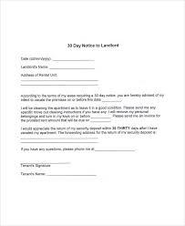 30 day notice letter lukex co