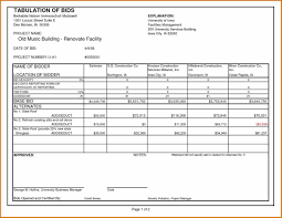 job quote template and estimate forms free spreadsheet example