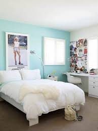 calming blue paint colors for small teen bedroom ideas with modern