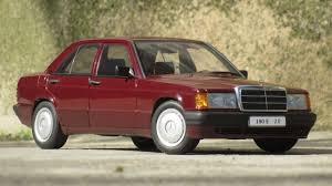 1 18 mercedes benz 190e 2 0 u002790 barolo red autoart millenium