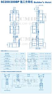 double cabins or cages 0 5 4 ton high rise building construction