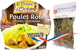 cuisine bouquet garni roast chicken and mashed potatoes fashion 300 gr 1 serve