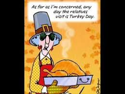 maxine on thanksgiving