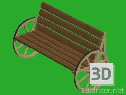 Model Bench 3d Model Bench Download For Free On 3dlancer Net