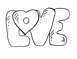 coloring pages of love eson me