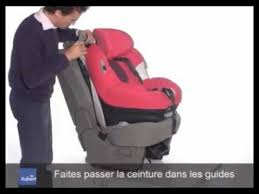 installation siege auto bebe confort opal de bébé confort installation