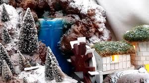 idee village de noel village panoramique de noël youtube