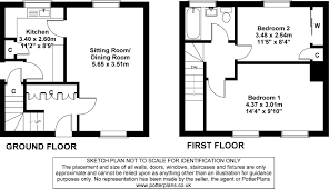 two bedroom semi detached house plan pinterest u2022 the world u0027s