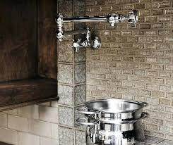 kitchen tile backsplash ideas with oak cabinets black cherry