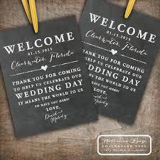 Wedding Gift Destination Wedding Printable Chalkboard Wedding Welcome Bag Tags Labels Hotel