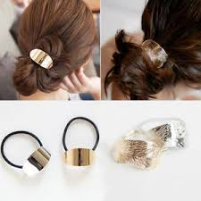 hair cuff metal hair cuff ponytail clip holder hair band