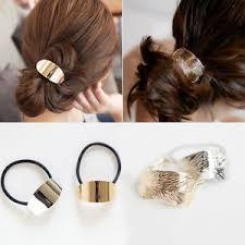 hair cuff metal hair cuff ponytail clip tie holder hair