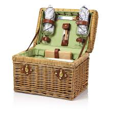 wine picnic baskets picnic time 215 19 550 napa botanica picnic basket for two