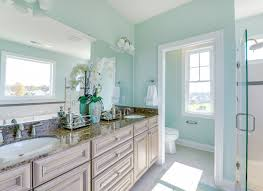 turquoise bathroom ideas sherwin williams sw6470 waterscape paint colors