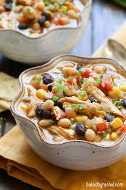 turkey and three bean chili baked by