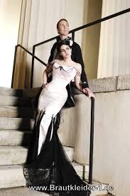brautkleid schwarz weiss vintage brautkleid in schwarz weiss farbig