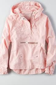 American Eagle Parka Awesome Aeo Pullover Windbreaker Pink American Eagle