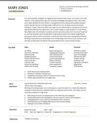 sle of resume pinterest everything fashion a customer assistant cv exle in a modern design all about the