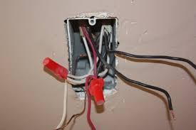 100 red and black wire light switch where to connect the