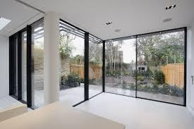 decorations modern large glass corner window design ideas smart