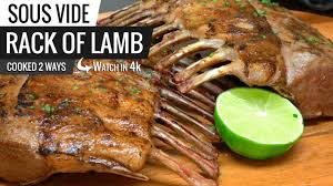 best way to cook rack of lamb sous vide with joule chefsteps by