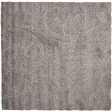 artistic weavers bari gray 4 ft x 4 ft square area rug bari5 4sq