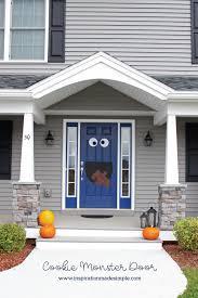 cookie monster door inspiration made simple