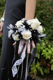wrist corsage ideas loren s prom wrist corsage i made from last year wedding prom