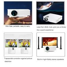 thinyou gp 9 portable 3000 lumens hd 1080p 3d multimedia projector