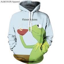 Meme Jacket - that s none of my business kermit drinking meme hoodie ulani