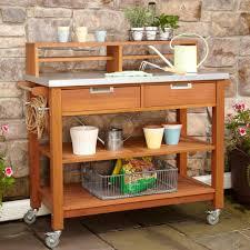 home styles bali hai potting bench green houses u0026 garden beds