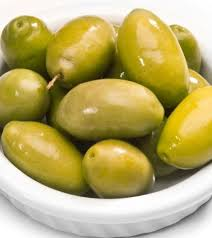 Indian Food Olives From Spain Olives Green 5 Kg Chefs Pantry