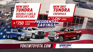 Yokem Toyota Big Deal Presidents U0027 Day Truck Specials Youtube