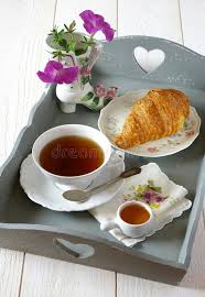 cuisine style shabby breakfast in style shabby chic stock photo image of pink
