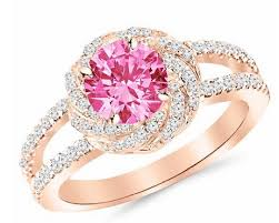 beautiful rose rings images The most beautiful pink engagement rings for her jpg