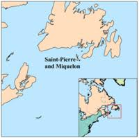 map of st and miquelon and miquelon new world encyclopedia