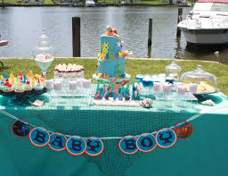 the sea baby shower decorations sweet eats cakes finding nemo the sea baby shower
